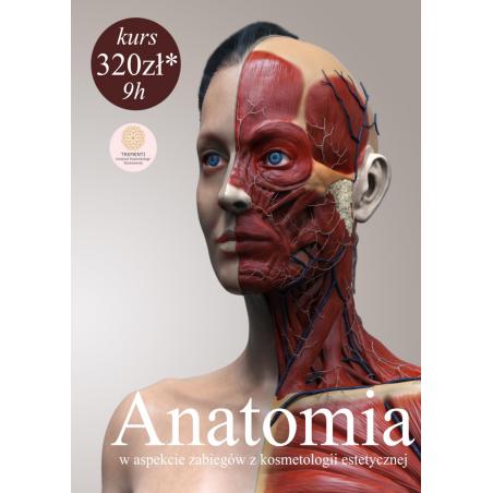 Anatomia w aspekcie zabiegów z kosmetologii estetycznej
